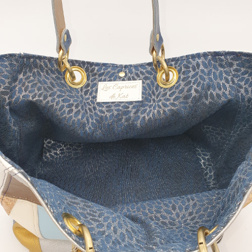 sacs cuir trapèze fabriqué main en france caprices de kat
