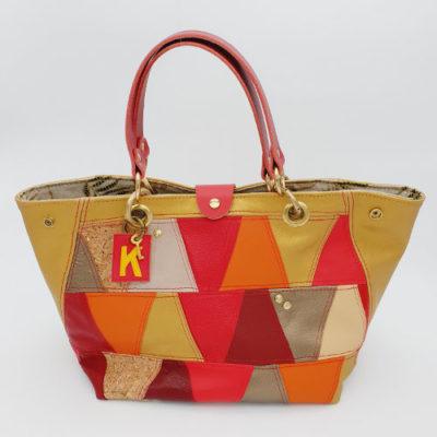 sacs cuir trapèze maroquinerie artisanale made in france caprices de kat