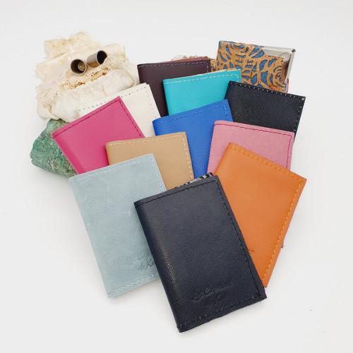 maroquinerie artisanale porte-cartes cuir les caprices de kat